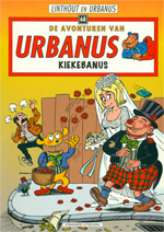 Zeldzame Soft Cover Urbanus-strip